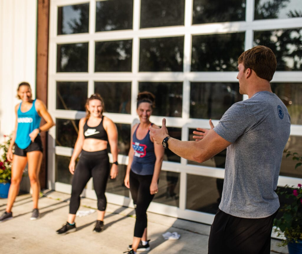 small group personal training session at FFIT